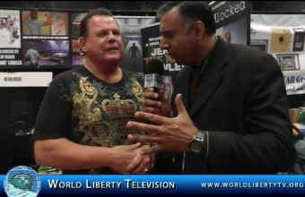 "Jerry  ""The King"" Lawler Wrestling Champion  interview at Comic Con-2014"