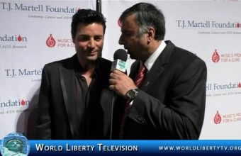 Interview with Chayanne,  Puerto Rican Latin pop singer, actor and composer-2014