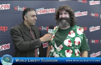 Exclusive interview with Mick Foley ,Hall of Fame Wrestler-2014