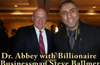 Steve Ballmer Former CEO of Microsoft and owner of LA Clippers Basketball Team-2015