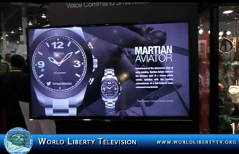 Smart watch and other item debuts at International CES 2015
