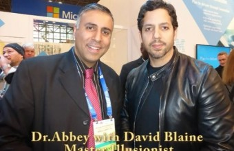 David Blaine  Magician and illusionist at JDA at NRF -2015