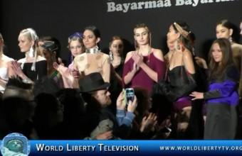 Bayarmaa Bayarkhuu Designer for MONGOL Fashion show-2015