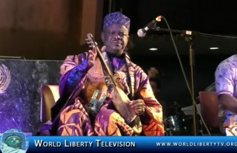 Ebola Concert Performance by Chieck Hamala Diabate and Band at UN-2015