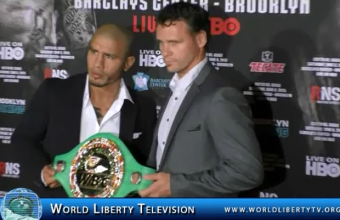 Miguel Cotto Vs Daniel Geale For WBC Middleweight Championship PR Conf @ Club 40/40