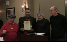 Dr.Adal M.Hussain Honored at RING 8 & NYS Boxing  Hall of Fame Event -2016