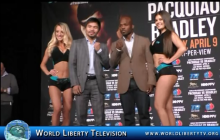 Pacquiao VS  Bradley  3rd Fight @ MGM LasVegas , NY Press Conf -2016
