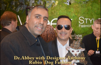 Designer Anthony Rubio Dog Fashion Show During Style Fashion  week -2016