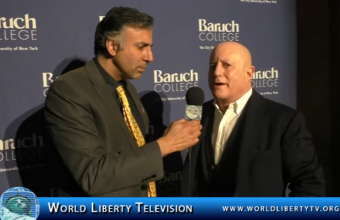 Interview with Billionaire Businessman Ronald O.Perelman  at Baruch College Annual  Gala -2016