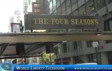 Closing of Historical Four Seasons Restaurant  New York City -2016