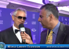 Interview with Andrea Bocelli Recording Artist & Live Performance at CGI-2016