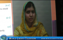 Keynote by Malala Yousafzai Education activist & Nobel Peace Prize winner at WOBI NY -2016