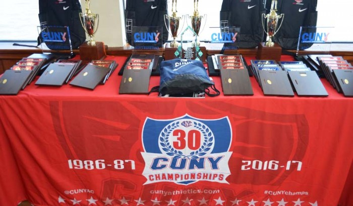 CUNYAC Basketball All-Star Luncheon at the Water Club -2017