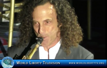 Live Performance by Saxophone Great Kenny G  at Promise Night Gala -2017