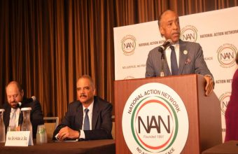 Rev Al Sharpton Founder & President NAN Welcoming Guests