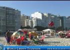 World  Famous Copacabana and  Ipanema Beaches  in Rio De Janeiro -2017
