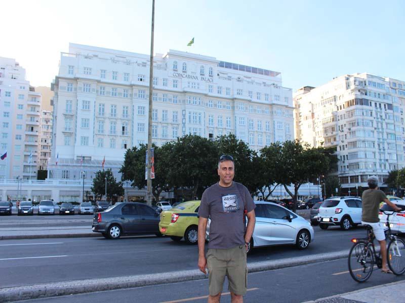 Legendary Copacabana Palace Hotel Rio de Janiero Brazil