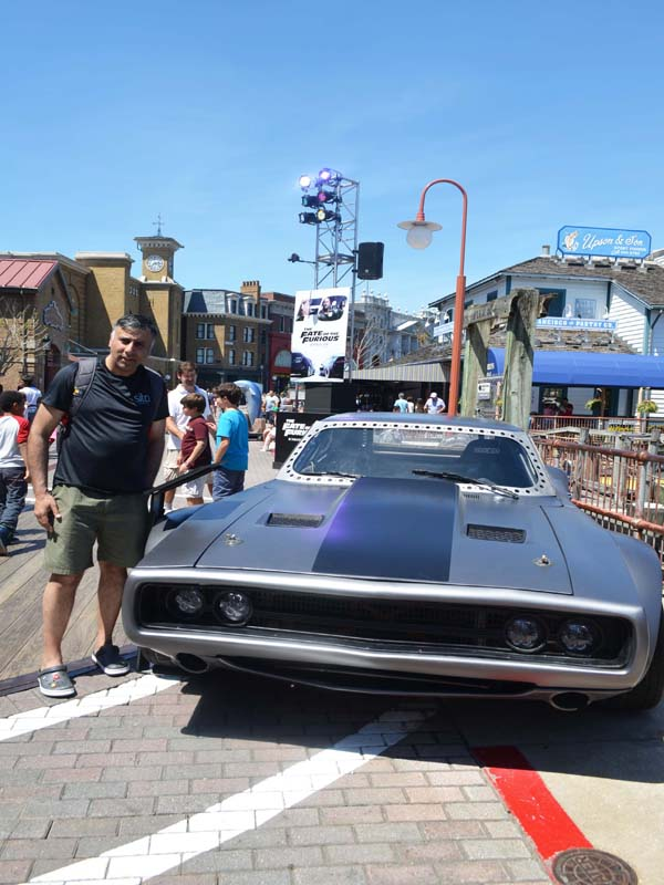 Fast & Furious Car on Display at Universal Studios Florida