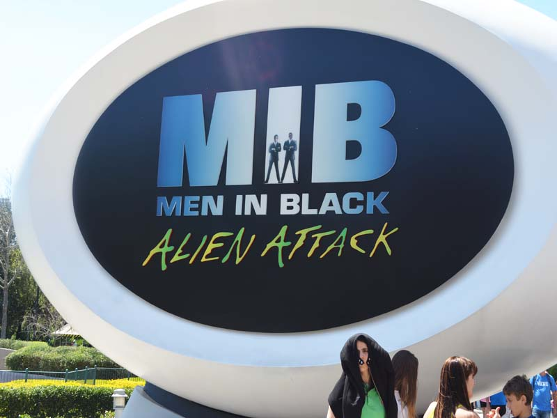MIB Alien Attack Ride