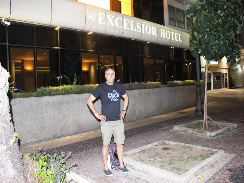 Staying at W Excelsior Hotel Rio Brazil