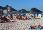 Copacabana and  Ipanema Beaches  in Rio De Janeiro -2017