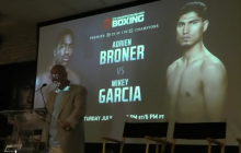 "Adrien ""The Problem'' Broner VS  Mikey Garcia NY Press Conference-2017"
