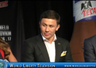Canelo VS Golovkin Supremacy Middleweight World Championship Press Conference NYC -2017