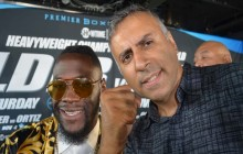 Deontay Wilder VS  Luis Ortiz Heavyweight World Title Showdown NY Press Conference-2017