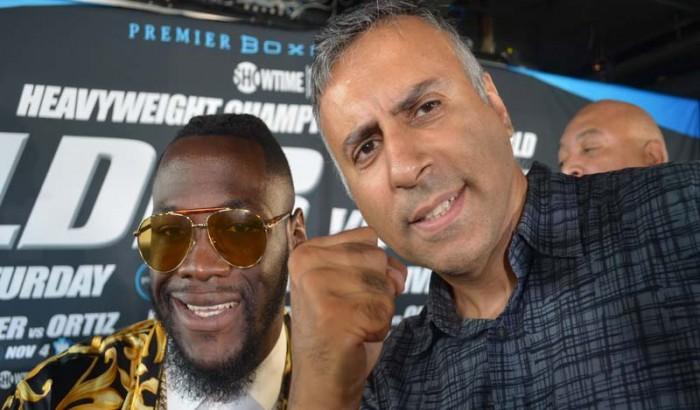 Deontay Wilder VS  Luis Ortiz Heavyweight World Title Showdown NY Press Conference-2017