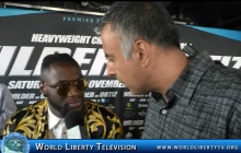 Deontay Wilder VS  Luis Ortiz Heavyweight World Title Showdown Press Conference-2017
