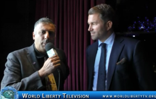 Interview with Eddie Hearn Promoter for Matchroom Boxing @ Jacobs VS Arias NY Pr Conf-2017