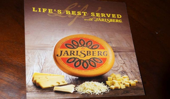 Wine and Cheese tasting with Jalrsberg to toast new Time Square Billboard-2018