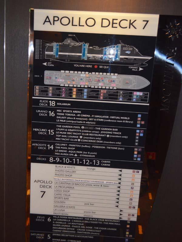 Cruise Liner Decks