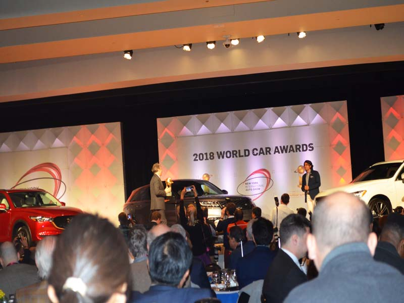 World Car Awards 2018