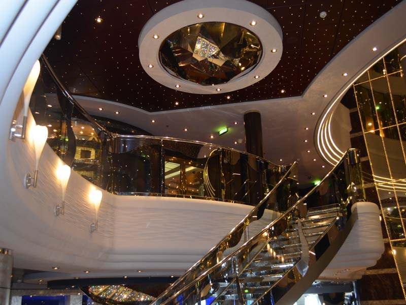 Sports Lounge at MSC Divina