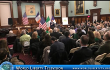 Irish Heritage Event with City Council Speaker Corey Johnson at  City Chambers-2018