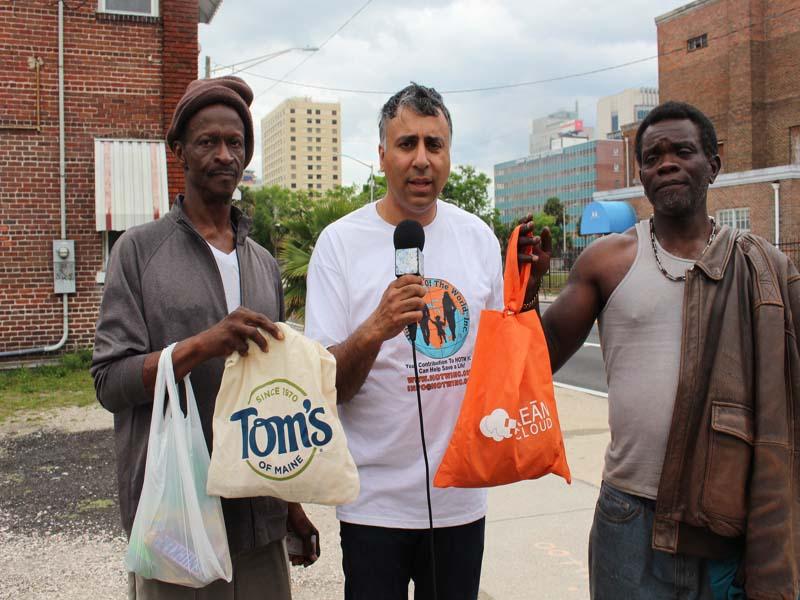 Jacksonville Homeless People