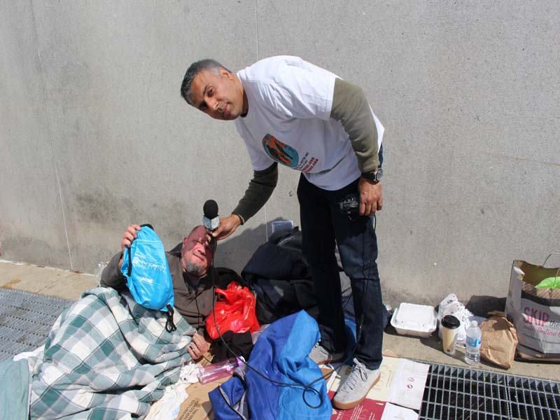 Maryland homeless people