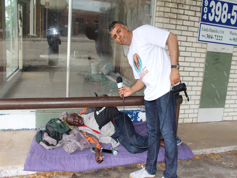 Homeless and living with HIV In the Streets