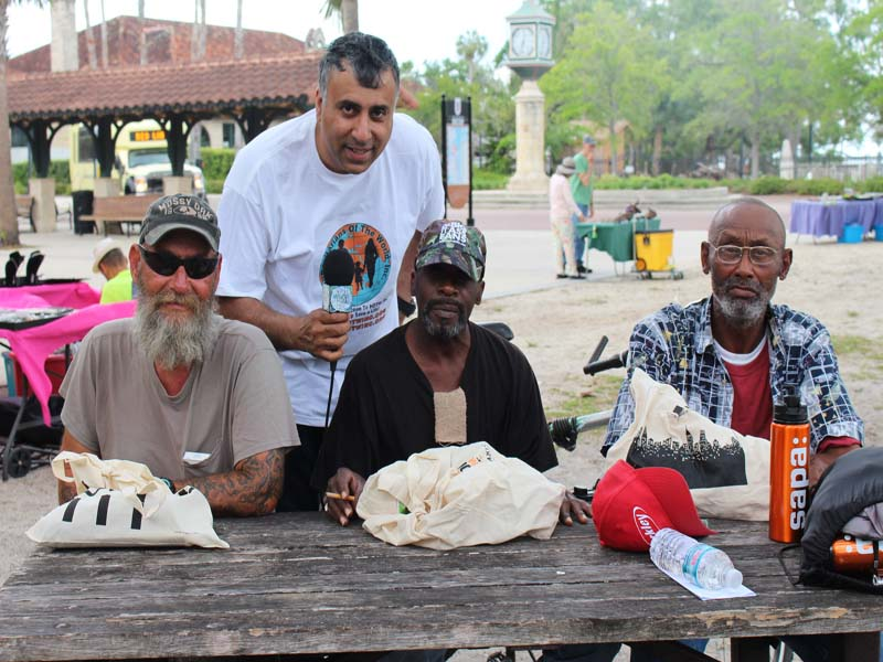 Homeless of St Augustine Florida