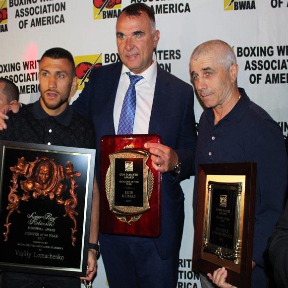 Lomo Team Winning BWAA Awards