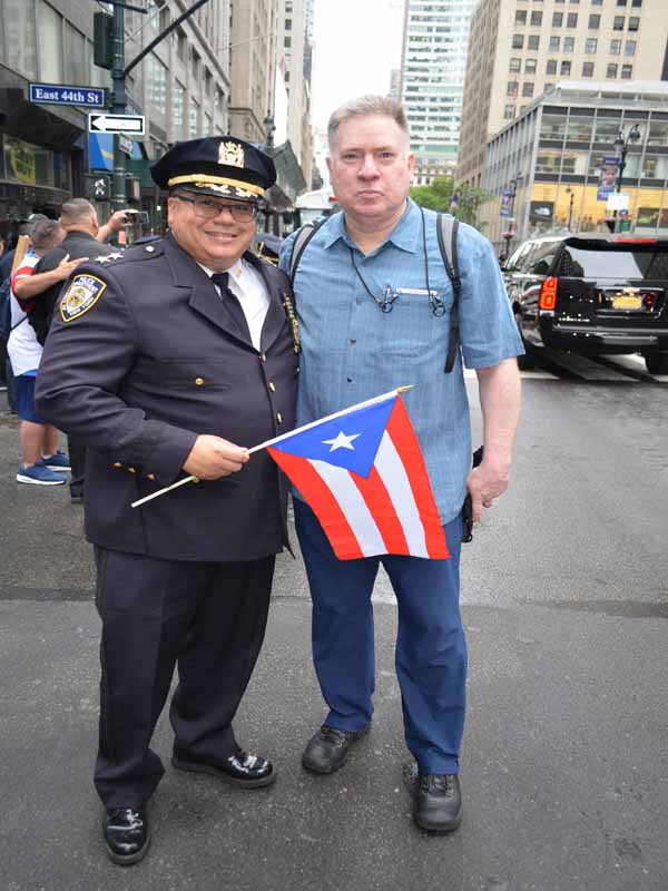 Puerto-Rican Police Officer