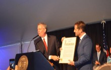 NYC Mayor Bill de Blasio's Jewish Heritage Event  at Gracie Mansion-2018