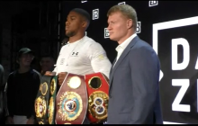 Anthony Joshua vs. Alexander Povetkin  NY Press Conf  at DAZN USA Launch -2018