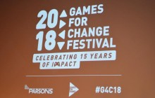 2018 Games for Change Festival ,Celebrating 15 years of Impact