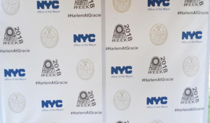 44th Annual HARLEM WEEK, at  Gracie Mansion -2018