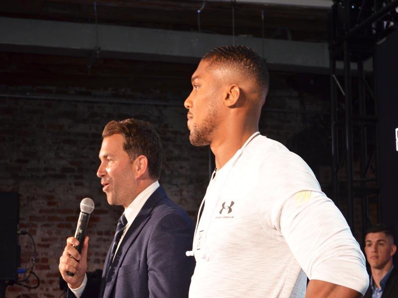 Matchroom USA Boxing Promoter of AJ