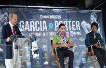 Garcia vs.  Porter NY Press Conf  for Vacant  WBC 147-Pound World Title Saturday, September 8 2018