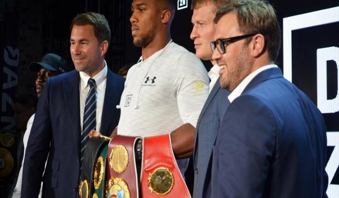 DAZN U.S. launch of Matchroom Boxing  & Bellator MMA-2018