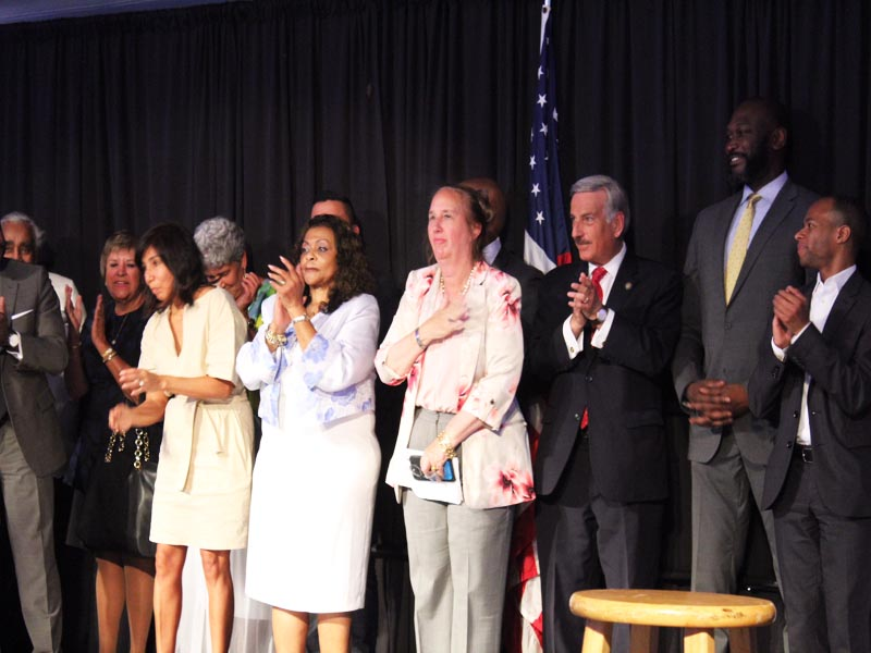 Political Leaders at Gracie Mansion